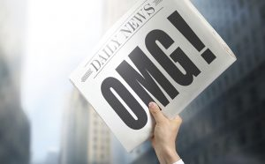 News media news paper cropped