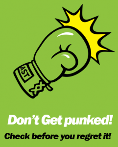 don't get punked green